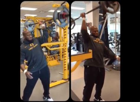 james harrison bench press amazing strength pittsburgh steelers quot james harrison