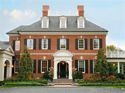 georgian home plans 25 best federal style house ideas on