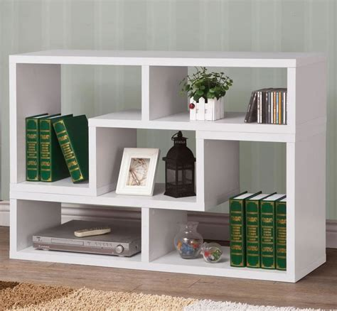 white contemporary bookcase modern bookcase in white chicago furniture stores