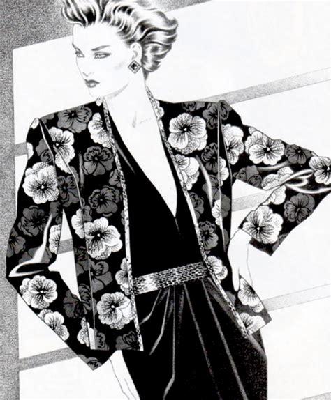 80s Sketches by 80s Fashion Illustration P E R I O D I C U L T