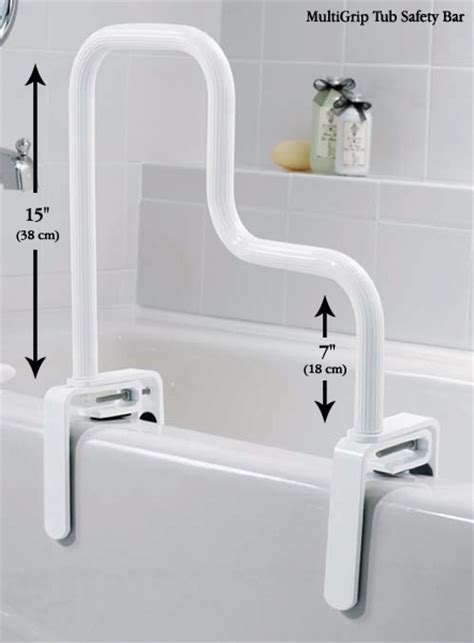 safety bar for bathtub moen 174 tub safety bars north coast medical