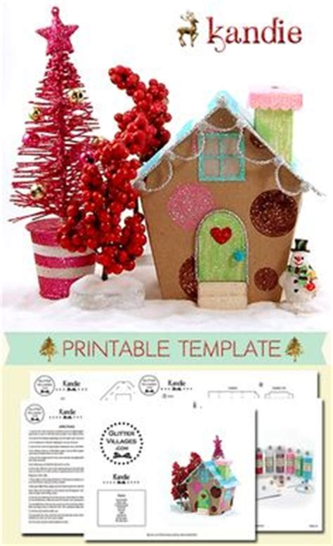 printable christmas village 1000 images about christmas village printable templates