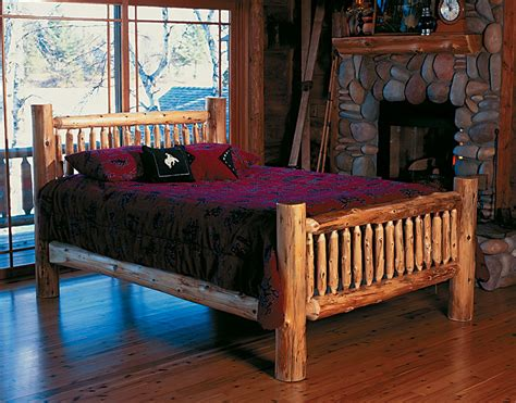 log headboard kits cedar log bed kits headboard only rustic furniture