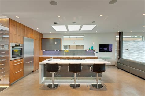 moderne wohnraumbeleuchtung the wave house modern kitchen vancouver by