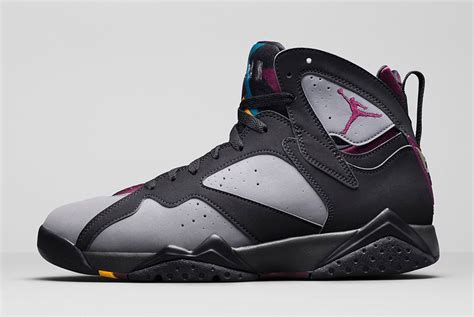 air 7 retro black bordeaux light graphite midnight fog air 7 retro quot bordeaux quot official images release