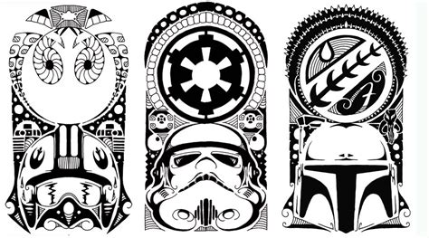star wars tribal tattoo wars polynesian tribal 2 by yayzus on deviantart