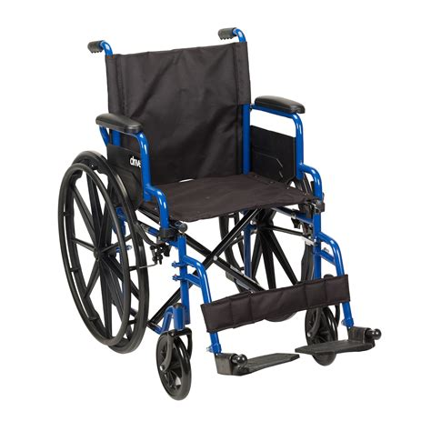 one arm wheelchair wc40 bls18fbd sf blue streak wheelchair with flip back