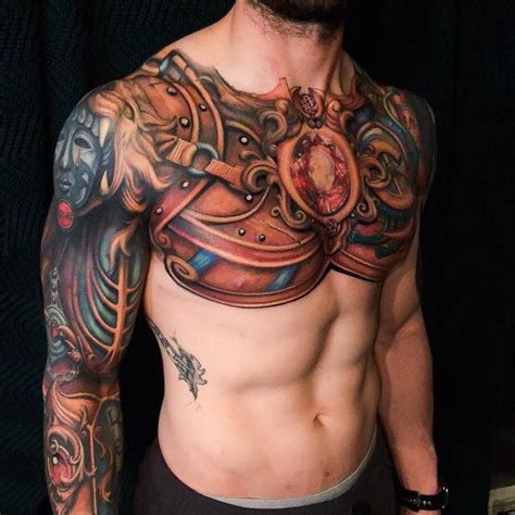 Chest Tattoos Page 2 Chest Plate Tattoos Designs 2
