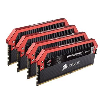 corsair 16gb dominator rog edition ddr4 3200mhz memory kit 4x4gb ln73302 cmd16gx4m4b3200c16