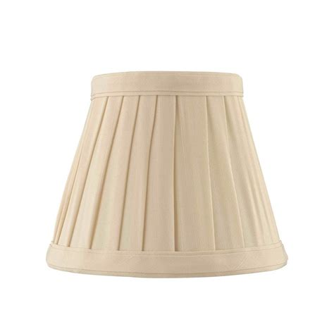 empire pleated l shades pleated l shade silk oval pro cream or white
