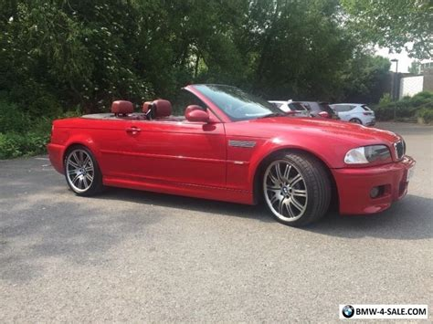 2005 bmw m3 convertible specs 2005 sports convertible m3 for sale in united kingdom