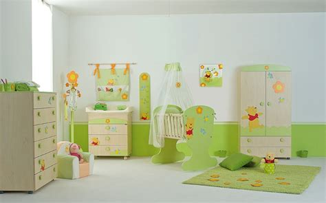 baby nursery furniture set with winnie the pooh from