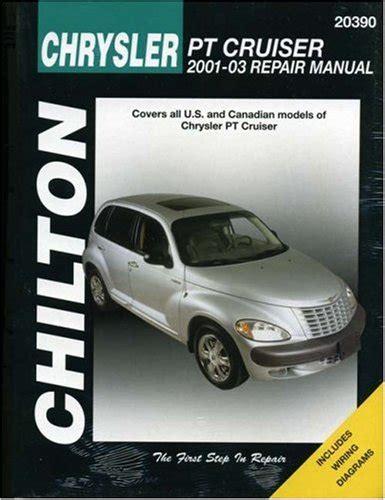 online car repair manuals free 2001 chrysler pt cruiser head up display pdf chrysler pt cruiser 2001 2003 chilton s total car