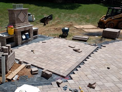 paver patio cost cost of paver patio paver cost landscaping network