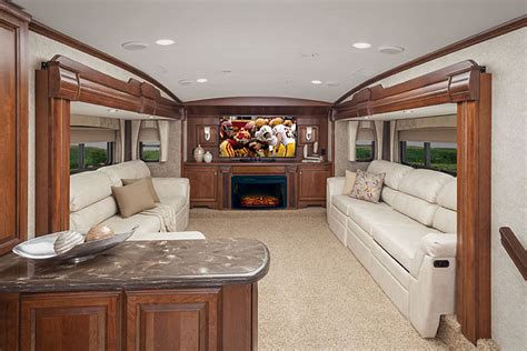 fifth wheels with front living room cardinal fifth wheel by forest river