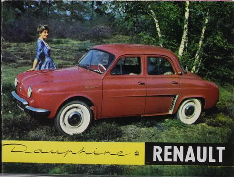 1966 Renault Dauphine Information and photos MOMENTcar