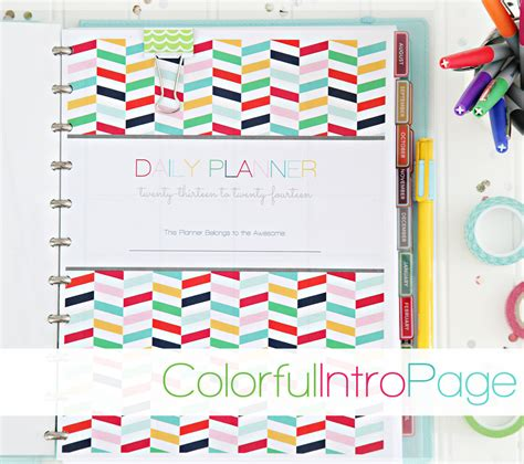 daily planner 2014 download 2014 daily planner pdf printable pages instant download