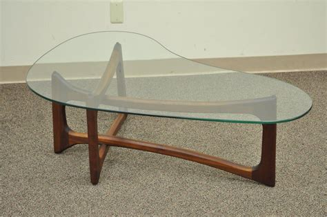 Boomerang Coffee Table Vintage Mid Century Modern Adrian Pearsall Boomerang Kidney Walnut Coffee Table For Sale At 1stdibs