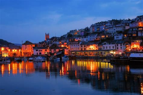 quot brixham devon night picture quot by richard pittuck at