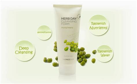 Jual The Shop Herb Day 365 Cleansing Foam jual the shop herb day 365 cleansing foam mung