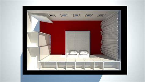 baue einen schrank in einem schlafzimmer schlafzimmer in zwei varianten schranksysteme