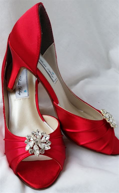 wedding shoes bridal shoes rhinestone flower shoes