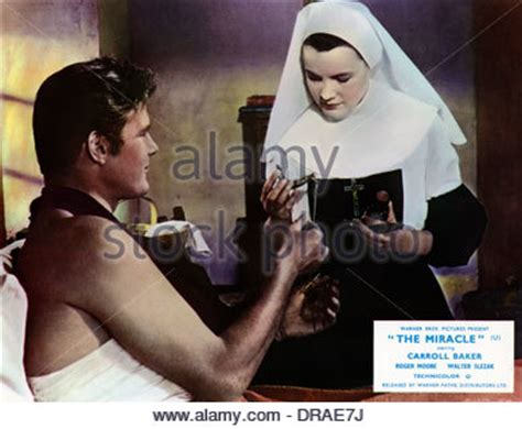 The Miracle With Roger Carroll Baker The Miracle 1959 Stock Photo Royalty Free Image 41827524 Alamy