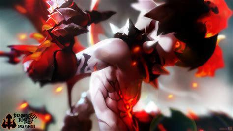 wallpaper dark avenger dragon nest dark avenger by paintoart on deviantart
