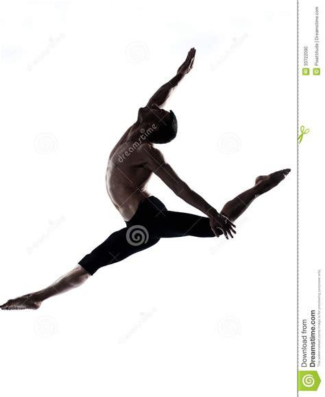 Ballet Wall Stickers man modern ballet dancer dancing gymnastic acrobatic