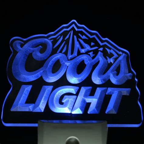 coors light bar sign aliexpress com buy ws0002 coors light bar beer decor day