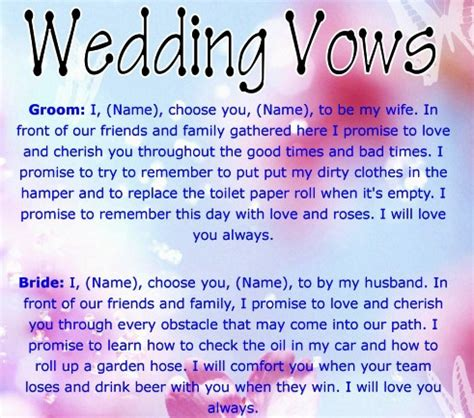 Wedding Vows Quotes Tagalog by Wedding Vows Wedding Ceremonies