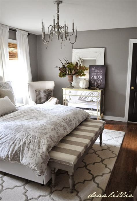 dear lillie fall home tour i love this peaceful bedroom home decor and design