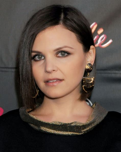 what kind of hair cut keeps hair away from face ginnifer goodwin s hair story the long short of it