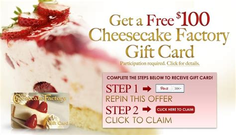 Discount Cheesecake Factory Gift Cards - 25 unique cheesecake factory gift card ideas on pinterest cheesecake shop menu