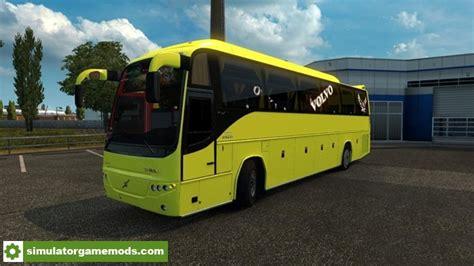 download game ets2 mod bus ets 2 volvo b12b tx bus passengers mod 1 27 x