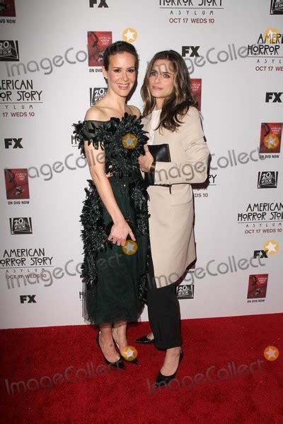 american horror story asylum premiere five minutes on huffpost photos and pictures los angeles oct 13 paulson amanda peet arrives at the quot american
