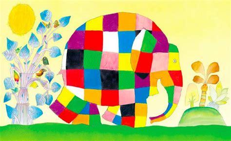 libro elmer elephant colours buggy progetto teatro scuola dell infanzia elmer ci 232 venuto a trovare gli amici di pooh crescono