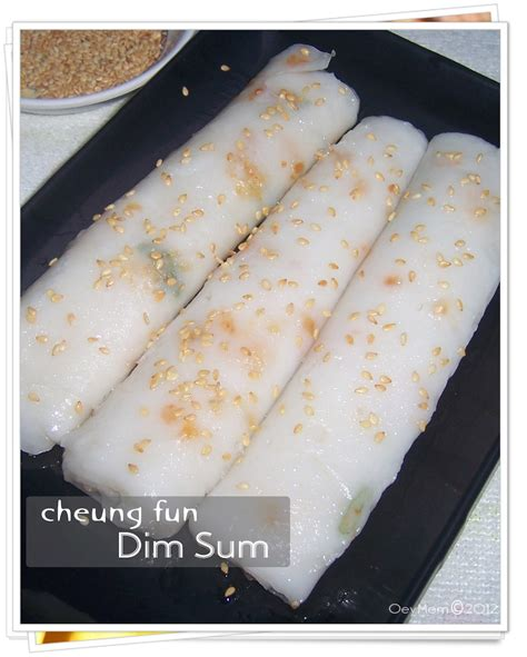 oey house steamed rice noodle rolls cheung fun