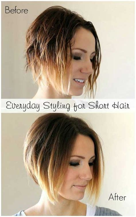 step by step for bob ombre 30 easy and cute hairstyles hairstyles haircuts 2016
