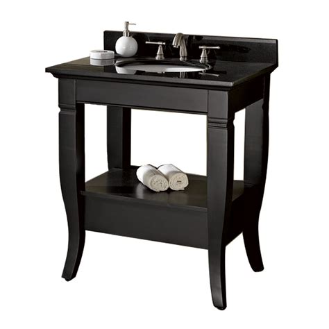 Bathroom With Black Vanity 30 Quot Bathroom Vanity Black Bathroom Vanities Ardi Bathrooms