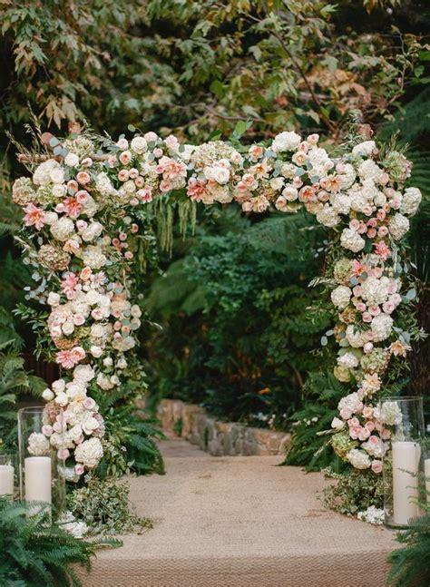 Garden Arch For Wedding Best 25 Wedding Arch Flowers Ideas On Floral