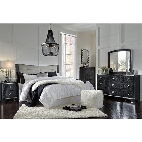 black ashley furniture amrothi queen bedroom set rent