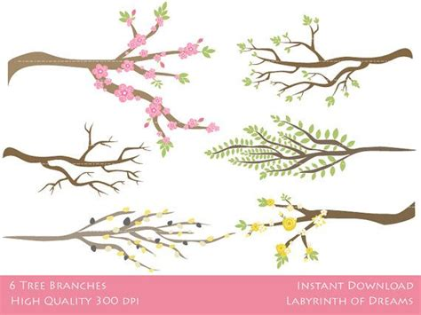 Y Branch Rucika D 4 tree branches digital clip tree branches branches and clip