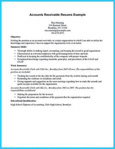Account Receivable Resume Sample resume sample account receivable resume account receivable resume