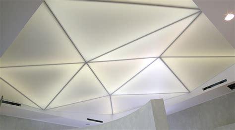controsoffitto luminoso barrisol installa zione telo soffitto teso