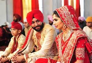 Punjabi weddings a statement of flamboyance and bling fashion