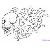 Coloring Pages Skull Tattoo Designs Tattoos Art