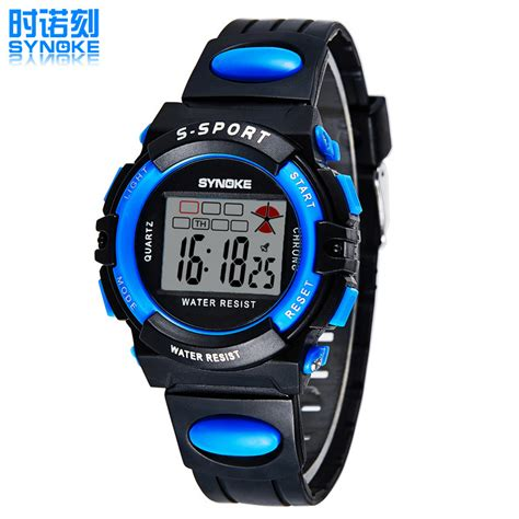 multifunction waterproof luminous watches students sports