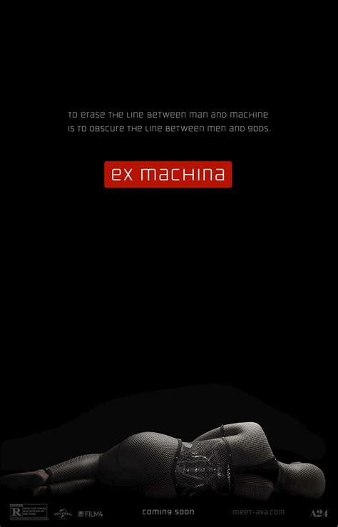 ex machina 2015 movie poster 5 scifi movies ex machina 2015 189 let s talk about movies