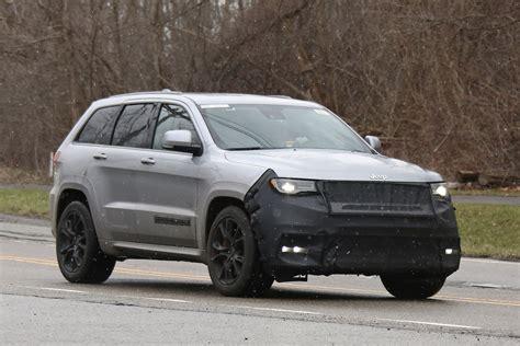 jeep hellcat jeep grand cherokee hellcat latest spy shots gtspirit